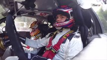 Quentin Gilbert au volant de la Citroën DS3 WRC