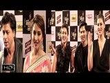 Shahrukh Khan Madhuri Dixit Nargis Varun Ileana At Mirchi Music Awards 2014