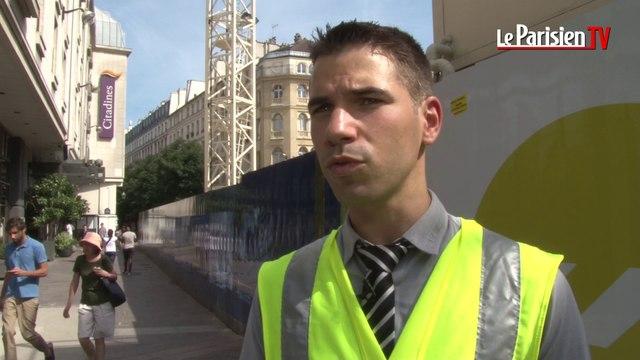 Paris : visite guidée des chantiers RATP des Halles