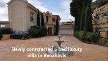 Viddeo.biz 6-Bed 6-Bath Villa for sale Benahavis,Malaga,Spain