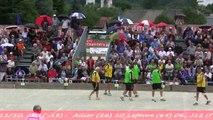 Finales France Quadrettes et Triples, Sport Boules, Chambéry 2014
