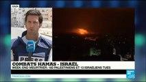 Actualité Week-end meurtrier dans la Bande de Gaza _ 160 Palestiniens et 13 Israéliens tués_(360p)