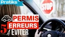 Permis de conduire - 5 erreurs à éviter le jour du permis de conduire