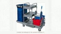 Chariot de lavage - Hygiène Conseils - Tel : 01.39.09.11.11 - VIDEO - chariot de lavage