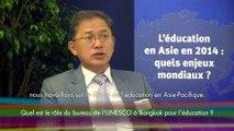 Interview de Gwang-Jo Kim, directeur du bureau Asie et Pacifique de l'UNESCO