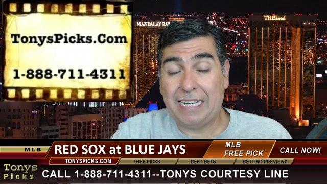 Toronto Blue Jays vs. Boston Red Sox Pick Prediction MLB Odds Preview 7-21-2014