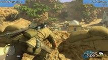 Sniper Elite III - Emplacement du Tir à Distance de la mission Col de Kasserine