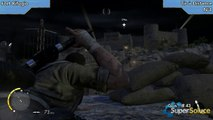 Sniper Elite III - Emplacement du Tir à Distance de la mission Fort Rifugio