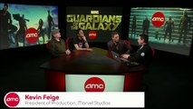Live GUARDIANS OF THE GALAXY Interview with Chris Pratt, James Gunn and Kevin Feige - AMC Movie Talk