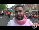 """Amsterdam, protesta filo-palestinese: """"Basta guerra a Gaza"""". Manifestazione pacifica: """"Israele, criminale di guerra"""""""