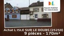 A vendre - Immeuble - L ISLE SUR LE DOUBS (25250) - 9 pièces - 170m²