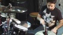 Le tempo disco à la batterie par Julien Tekeyan
