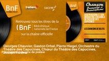Georges Chauvier, Gaston Orbal, Pierre Hiegel, Orchestre du Théâ - Proclamation du prix de poésie