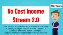 [No Cost Income Stream 2.0 Review] Honest Review _ Bonus Strategies