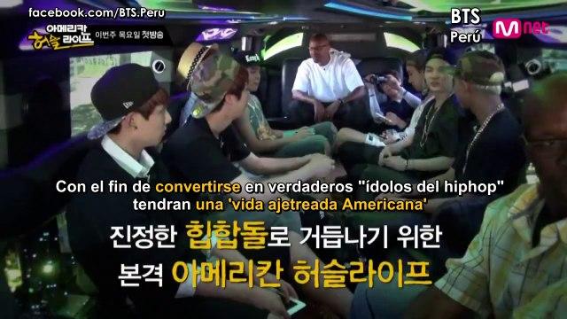 [Sub Español] BTS (방탄소년단 ) - American Hustle Life Ep. 1 (Preview)