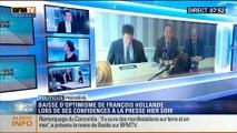 Politique Première: Baisse d'optimisme de François Hollande lors de ses confidences à la presse - 17/07