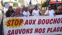 Vannes. 170 manifestants contre les moules de bouchots à Damgan
