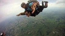 14- PARACHUTISME – RASSEMBLEMENT NATIONAL FEMININ saut Brandon tandem SC420 Avignon Parachutiste 19 juillet 2014(1)