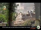 Hamas destroyed a Israeli Merkava tank  at north of Beit Hanoun by shell RPG 29