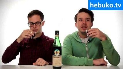 Başka ülkelerin içkilerini test etmek