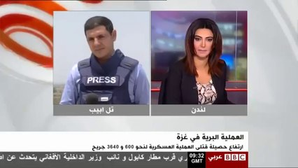 BBC journalist physically attacked by Israelis while on air