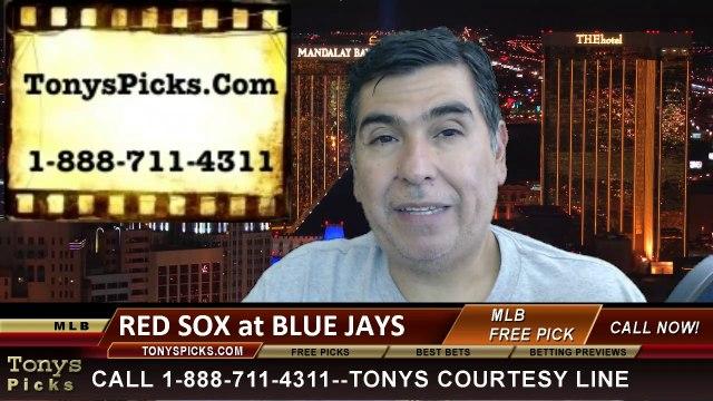 MLB Pick Toronto Blue Jays vs. Boston Red Sox Odds Prediction Preview 7-22-2014