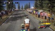 Tour de France 2014 Etape 17, Saint-Gaudens/Saint-Lary Pla d'Adet [PS4-AG2R-Bardet]