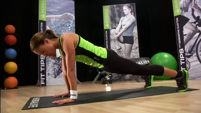 Fitness tips – Total body workout – Herbalife Workout
