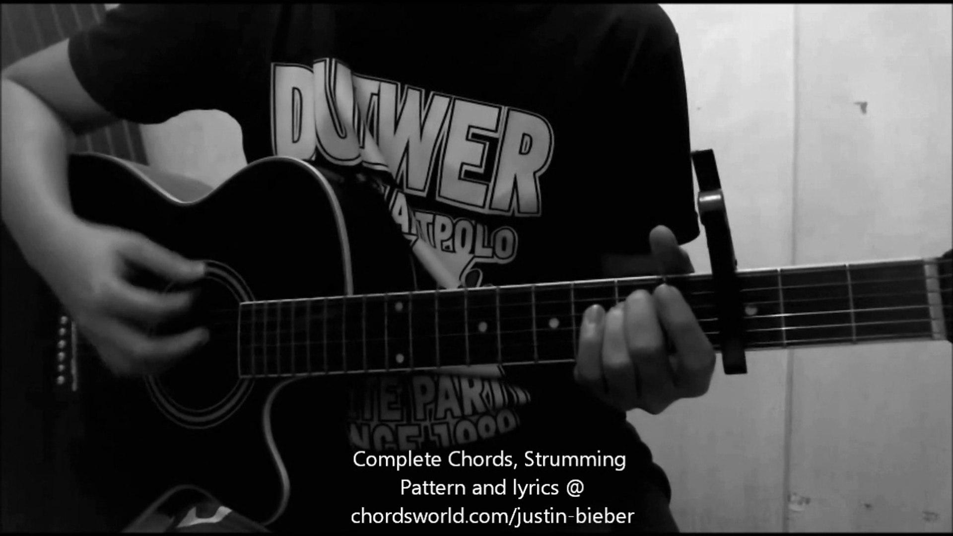 Acordes De Guitarra Baby Justin Bieber