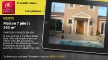 A vendre - maison - SAINT GELY DU FESC (34980) - 7 pièces - 240m²