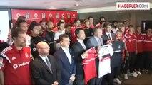 Vodafone Türkiye, Beşiktaş Jimnastik Kulübü ile İmzaladığı Türk Spor Tarihinin En Büyük Sponsorluk...