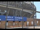 Napoli - Stadio San Paolo, botta e risposta tra Formisano e Auricchio (23.07.14)