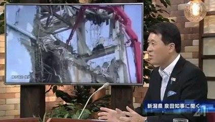泉田知事「日本の原子力の新規制基準は国際標準を満たしていない。第5層がそっくり抜けている」