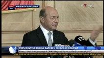 Traian Băsescu - Federaţia Rusă are politici care periclitează securitatea statelor din regiune