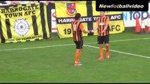 Harrogate Town 0 Hull City 5   Match Highlights   21st July 2014