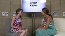 Carmen Afán, PR & Events Manager. Entrevista en el plató de MFSHOW MEN Julio 2014