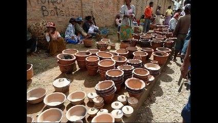 travail de la poterie à madagascar
