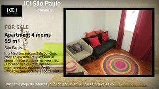 Apartment 2 beds 2 baths 1 P space 99 m² Jardim Paulista