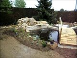 accès jardins bassin de jardin