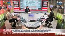 Francis Perrin et Benaouda Abdeddaïm, dans Le Grand Journal - 23/07 4/7