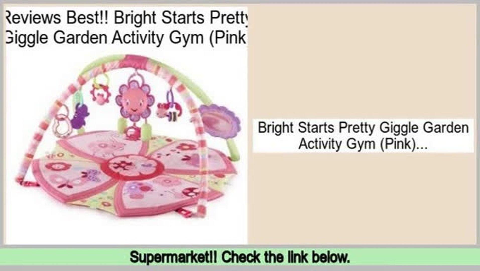 Pretty Giggle Garden Activity Gym