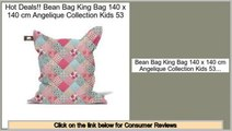 Consumer Reviews Bean Bag King Bag 140 x 140 cm Angelique Collection Kids 53