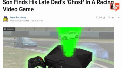 Kid Finds Dad's Ghost In Old Xbox Rally Racing Game