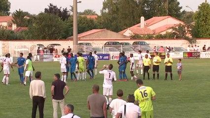 Vendée Fontenay Foot - Chamois Niortais FC  (Amical du 23/07/2014)  Le Résumé
