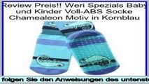 Angebote Online Weri Spezials Baby und Kinder Voll-ABS Socke Chamealeon Motiv in Kornblau