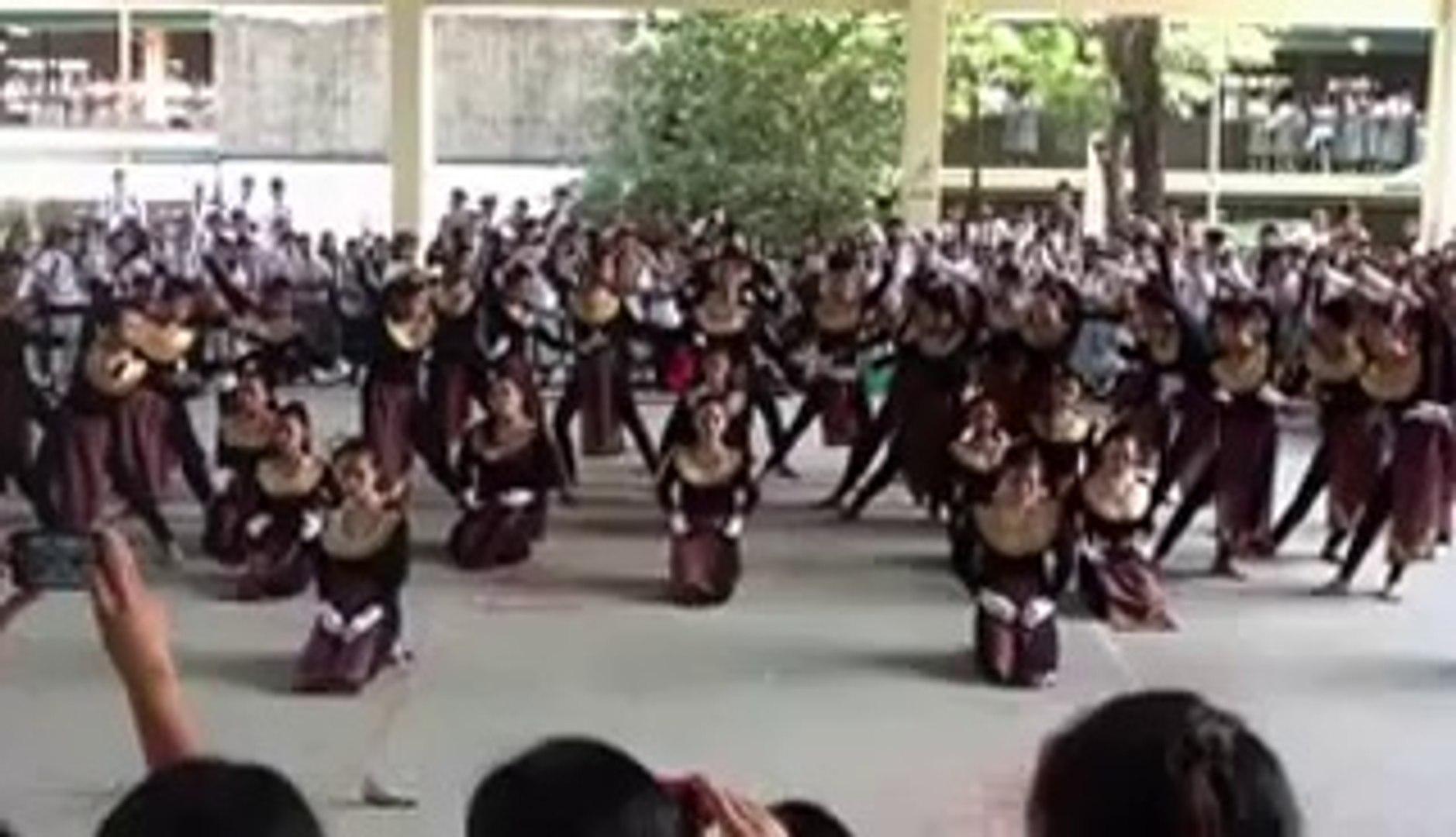 The Congo Speech Choir of IV-J. Rizal and IV-E. Aguinaldo