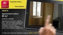 A vendre - appartement - NANTES (44000) - 4 pièces - 85m²