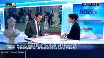 Politique Première: La satisfaction de Manuel Valls - 24/07