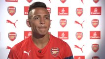 Alexis Sanchez - First Interview - Welcome to Arsenal