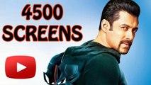 Salman Khan's KICK Releases In 4500 Screens !